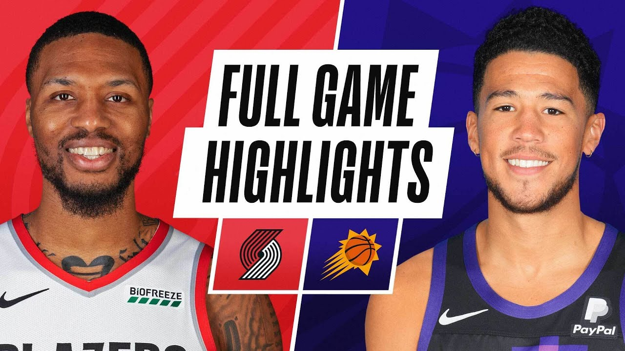 TRAIL BLAZERS at SUNS | FULL GAME HIGHLIGHTS | February 22, 2021