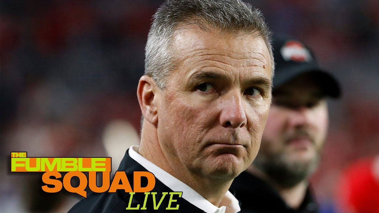 Trolls GO IN on Urban Meyer for Hiring Racist Coach   The Fumble Squad Live