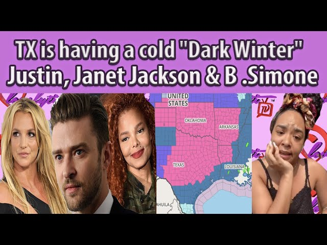 "TX is having a ""Dark Winter""~ Justin caught 'Liking' Janet Jackson thread+Tyrese praises B.Simone"