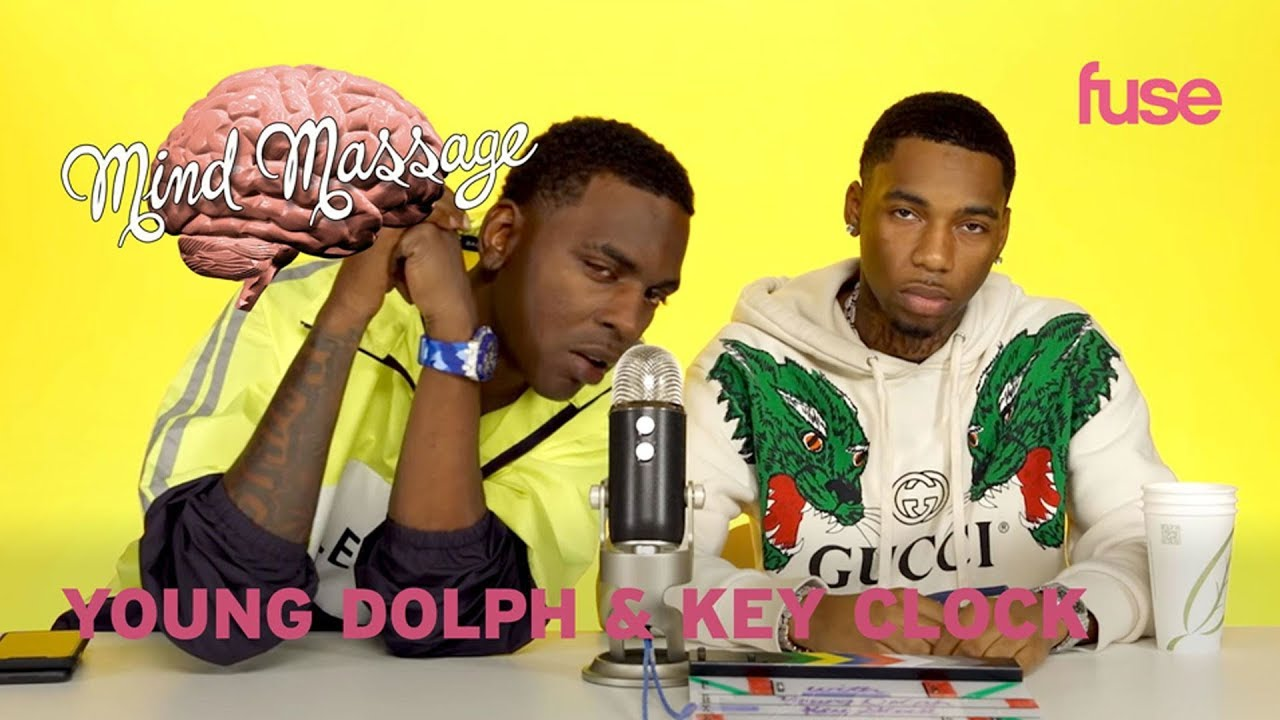 """Young Dolph & Key Glock Do ASMR with Ketchup & Mustard, Talk """"Dum and Dummer""""   Mind Massage   Fuse"""