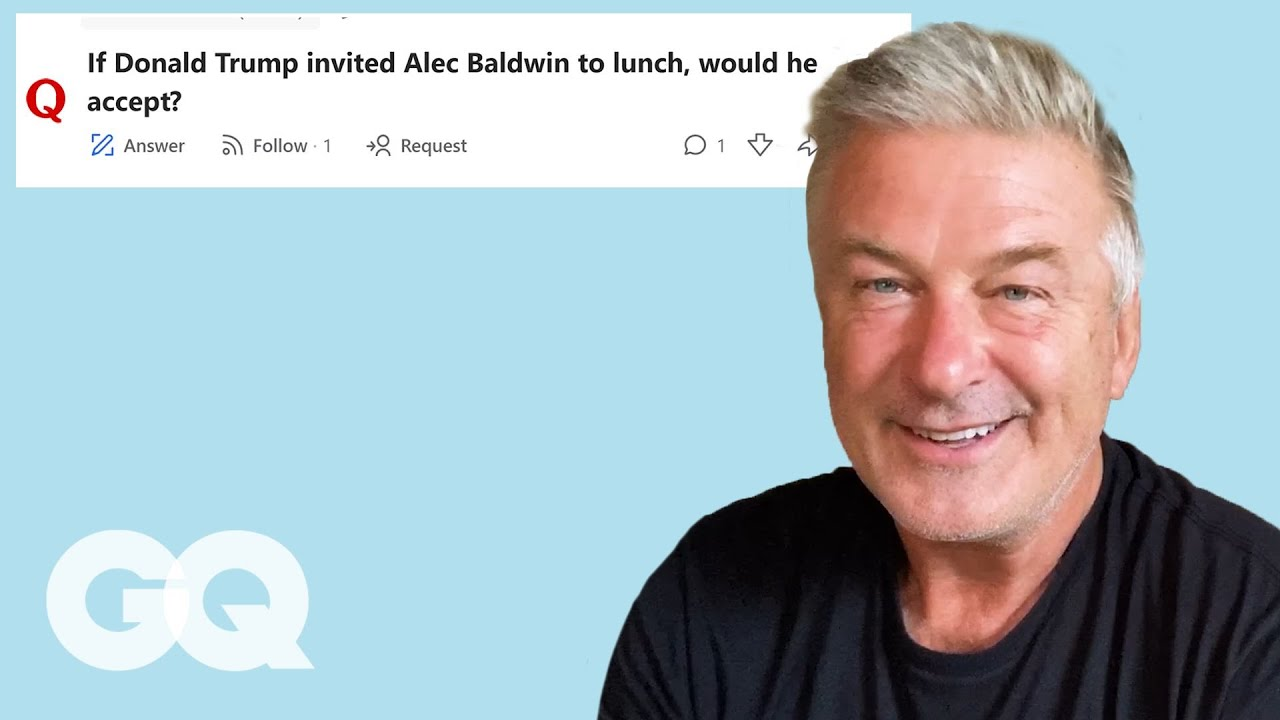 Alec Baldwin Goes Undercover on the Internet | GQ