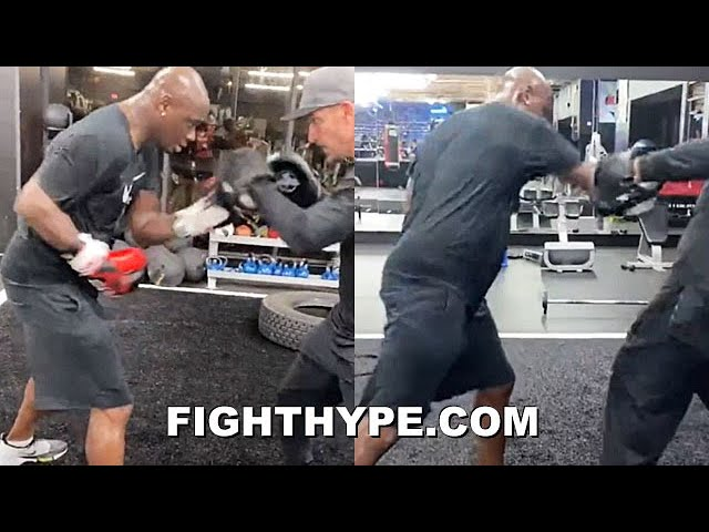 "ANTONIO TARVER TRAINING FOR FRANK MIR; SHARPSHOOTING AT AGE 52 FOR ""MENTAL HEALTH"" SHOWDOWN"
