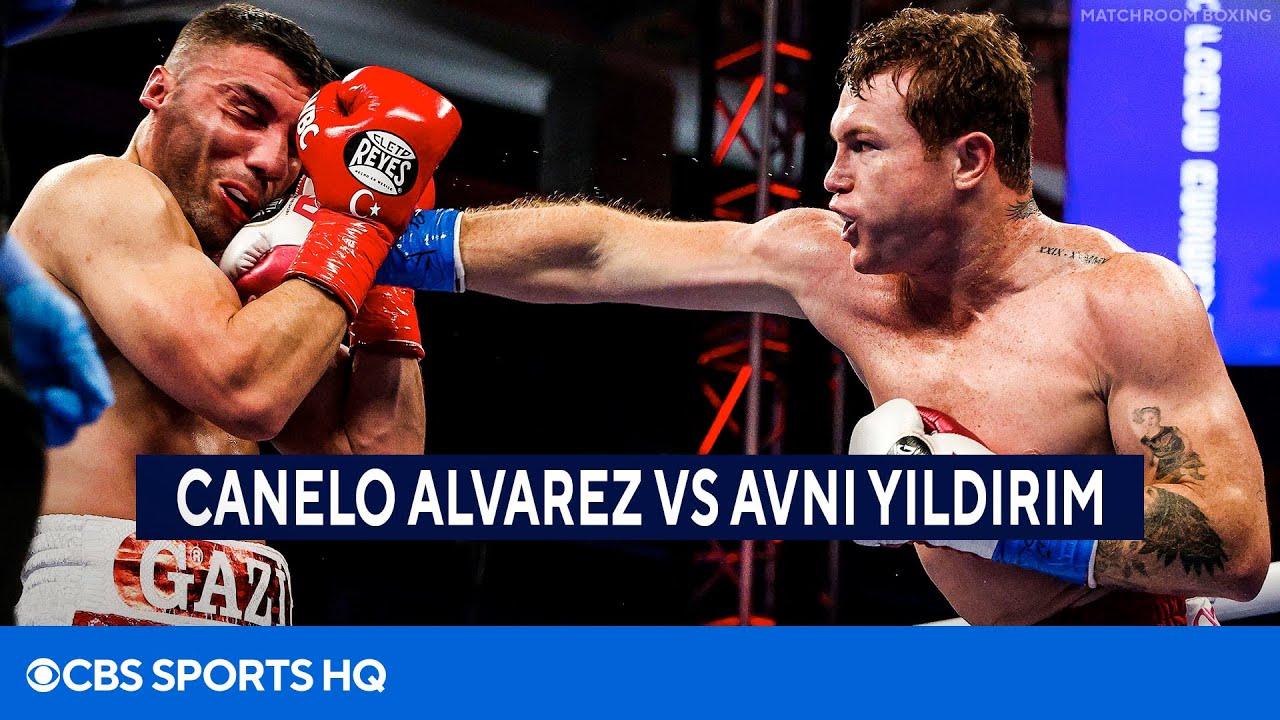 Canelo Alvarez vs Avni Yildirim FULL Recap | CBS Sports HQ
