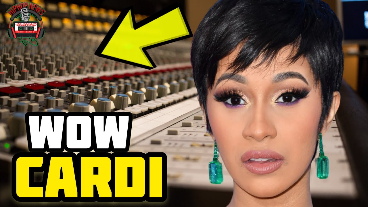 Cardi B Accused Of The Unthinkable Again By Camden, NJ Artist Mir Pesos!