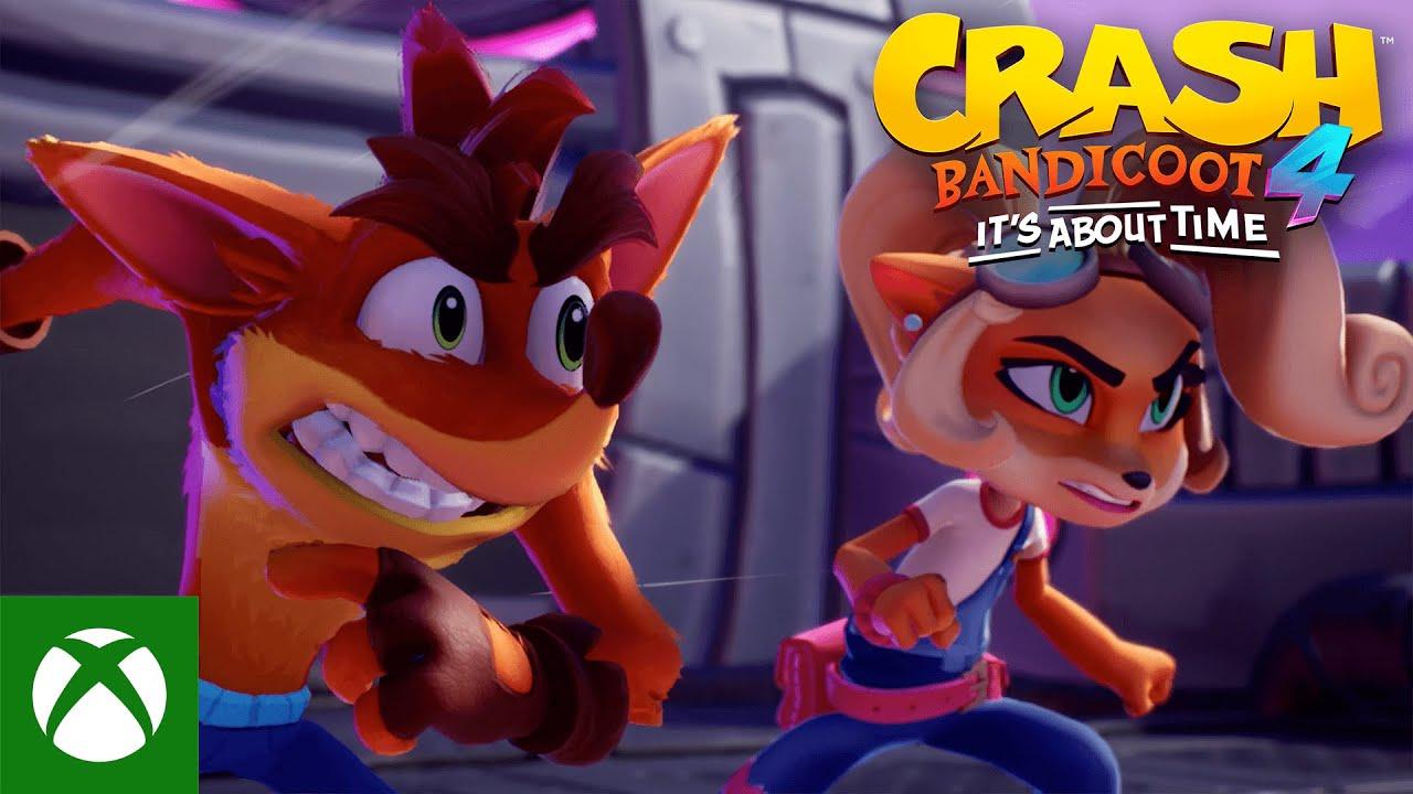 Crash Bandicoot™ 4: It's About Time - Launch Trailer