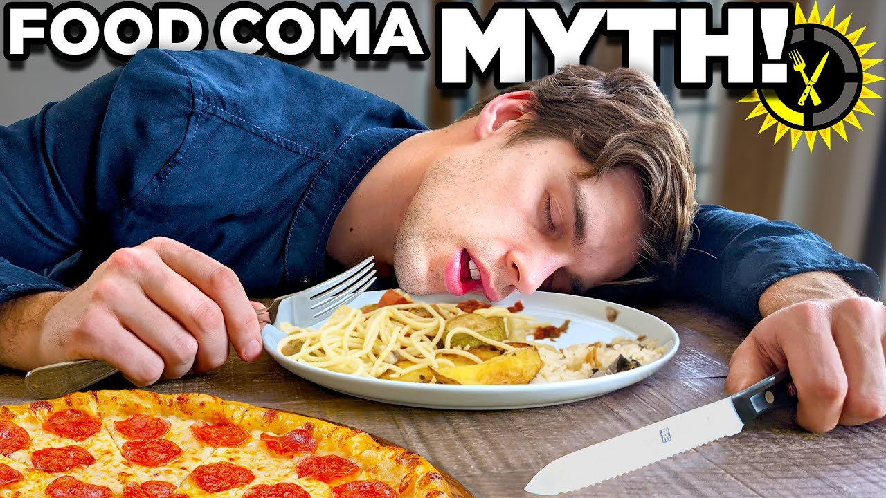Food Theory: They LIED To You About Food Comas!
