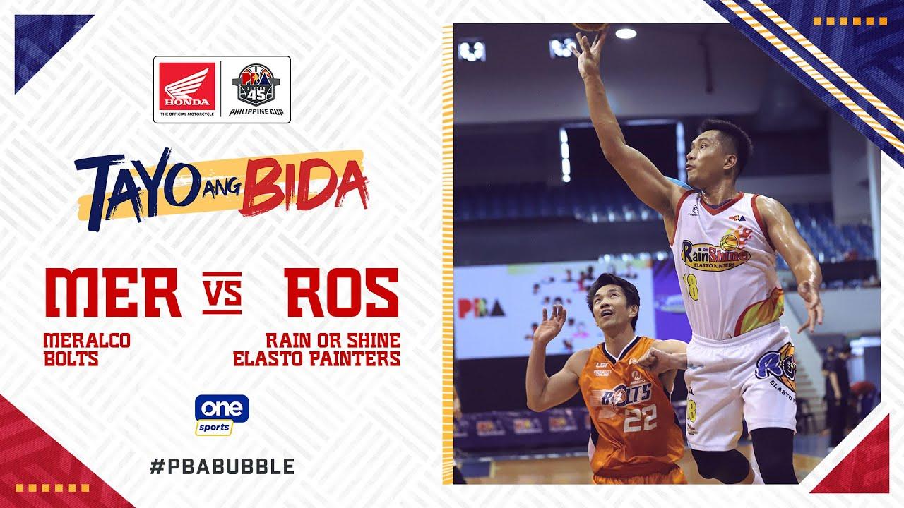 Full Game: Meralco vs Rain or Shine | PBA Philippine Cup 2020