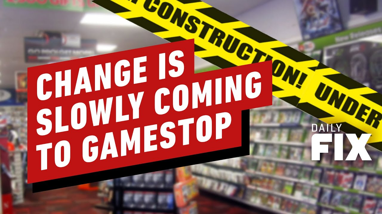 GameStop Slowly Changing After Wild Stock Market Ride - IGN Daily Fix