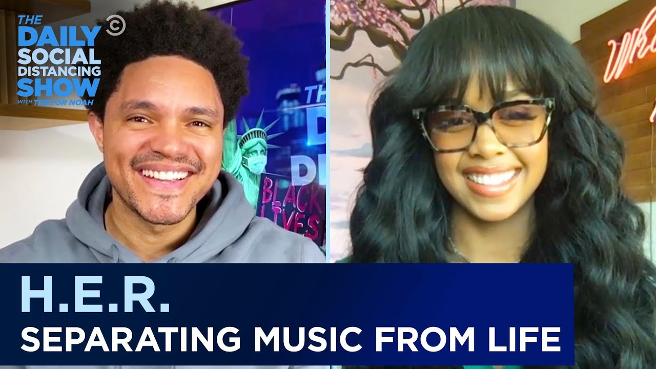 H.E.R. - Tackling Tough Topics in Music & Keeping Life Private   The Daily Social Distancing Show