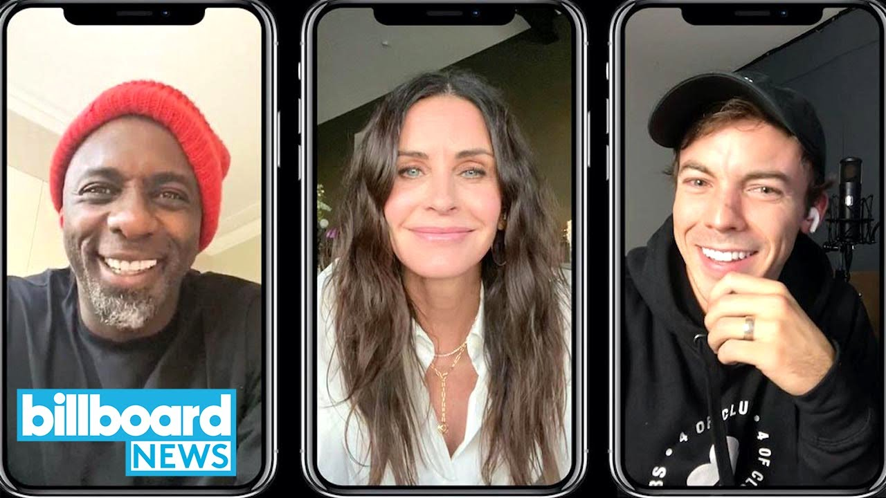 Idris Elba, Connor Price on 'Courteney Cox' and Story Behind Her Rapping Cameo | Billboard News