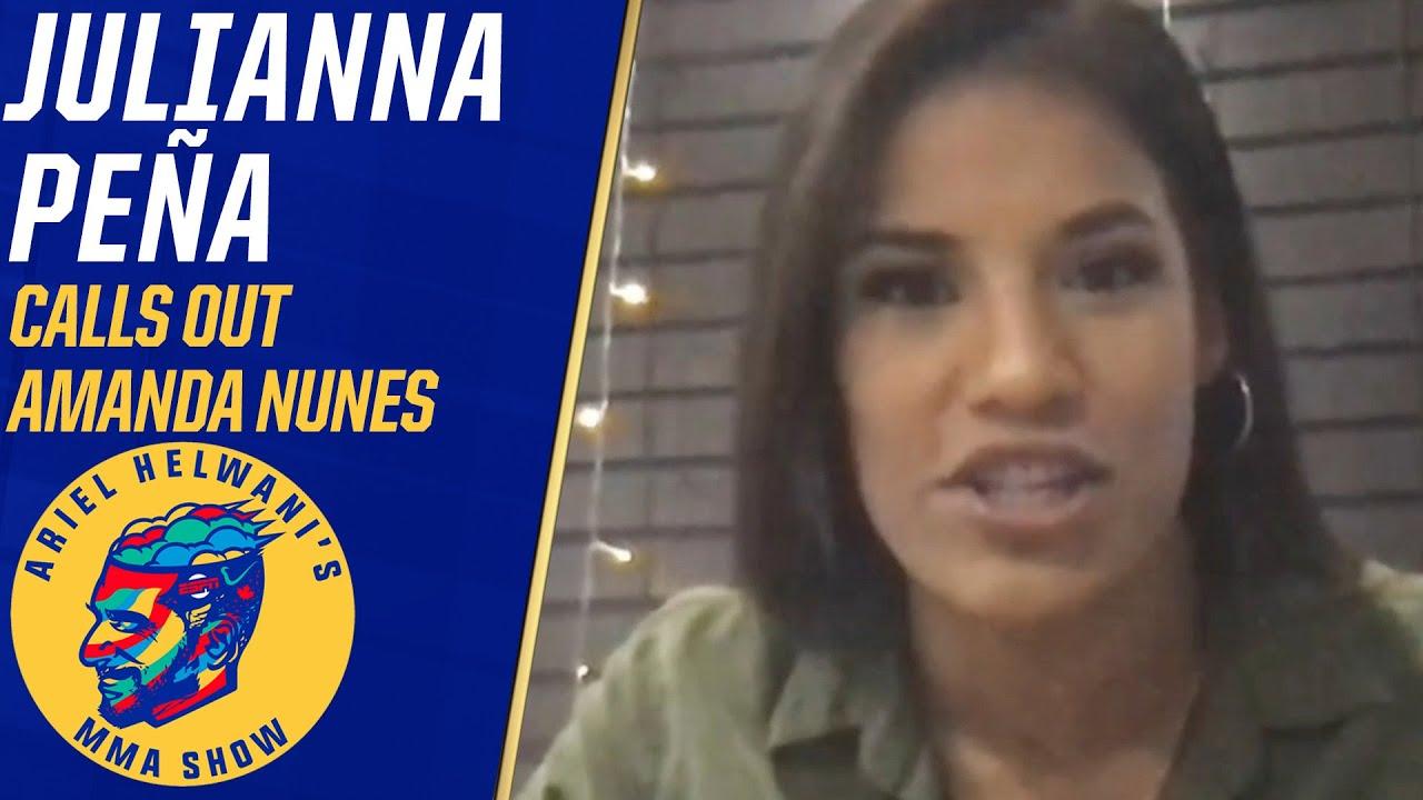 Julianna Peña goes off on Amanda Nunes about not accepting title fight | Ariel Helwani's MMA Show