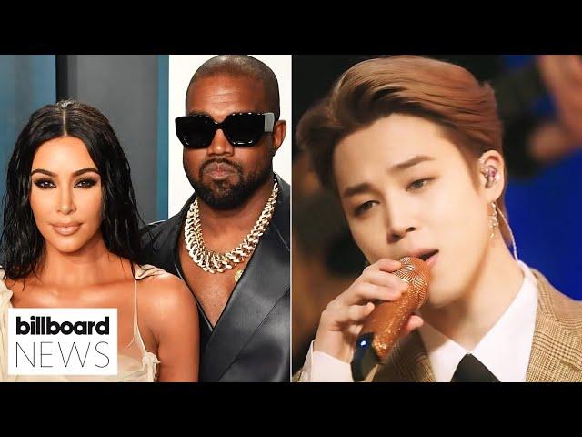 Kim Kardashian & Kanye West Divorce, Sneak Peek at BTS' MTV Unplugged Special   Billboard News