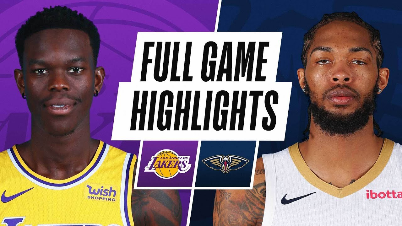 LAKERS at PELICANS | FULL GAME HIGHLIGHTS | March 23, 2021