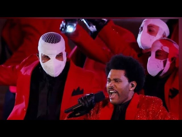 M.Reck & Da Earth Live The Weeknd Spooky Performance At Super Bowl LV