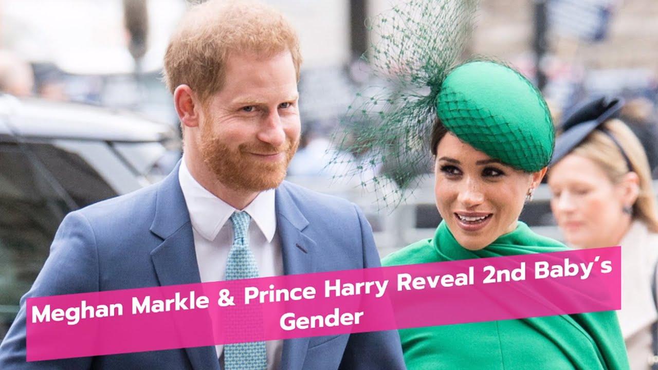 Meghan Markle & Prince Harry Reveal 2nd Baby's Gender