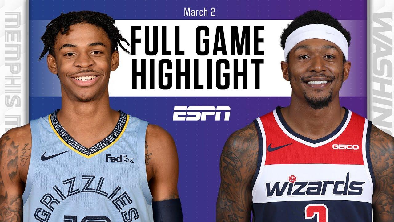 Memphis Grizzlies vs. Washington Wizards [FULL GAME HIGHLIGHTS] | NBA on ESPN