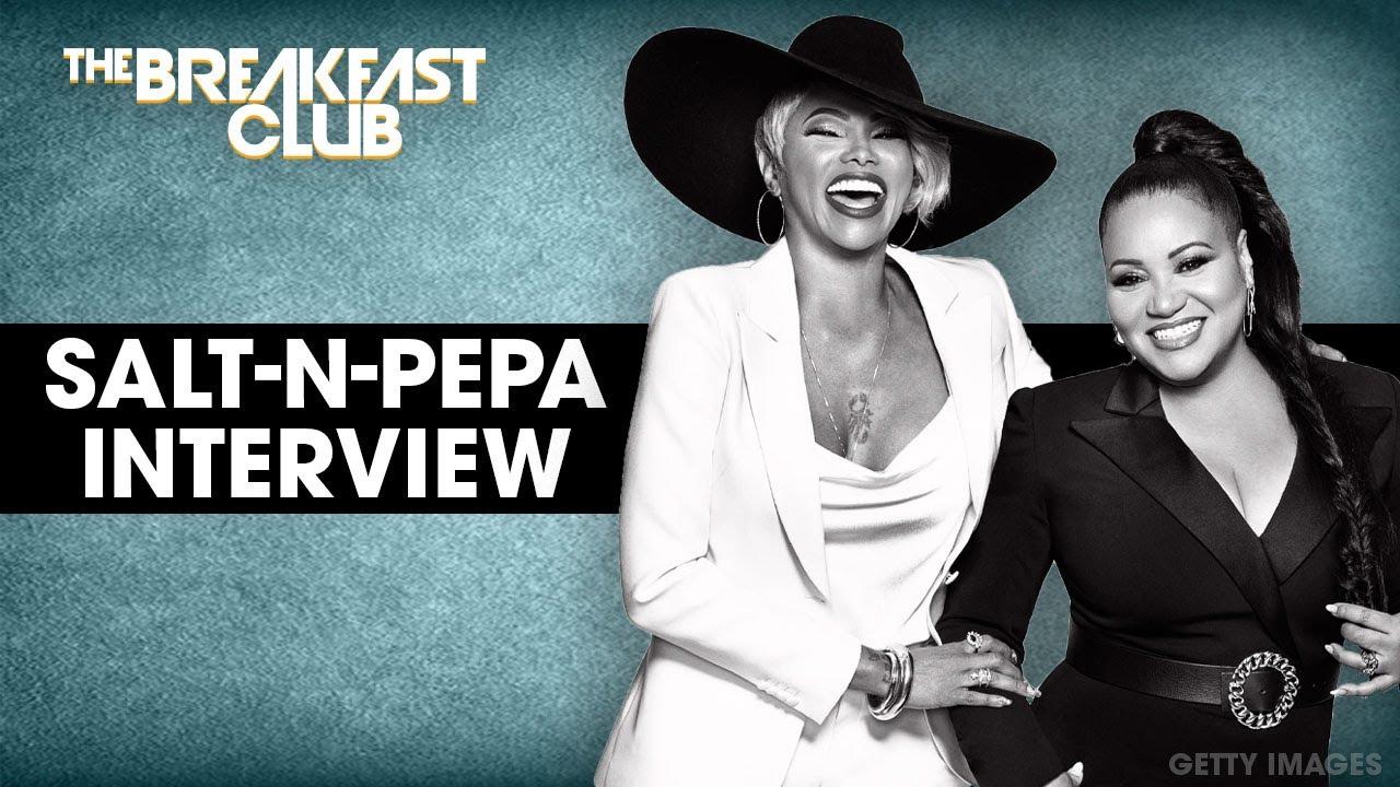 Salt-N-Pepa Talk Sisterhood In Music, Maturity, New Biopic + More