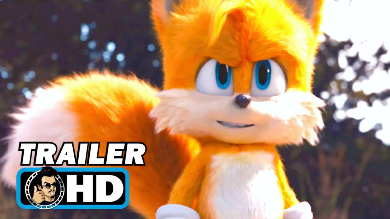 SONIC THE HEDGEHOG 2: TAILS Title Announcement Teaser (2022)