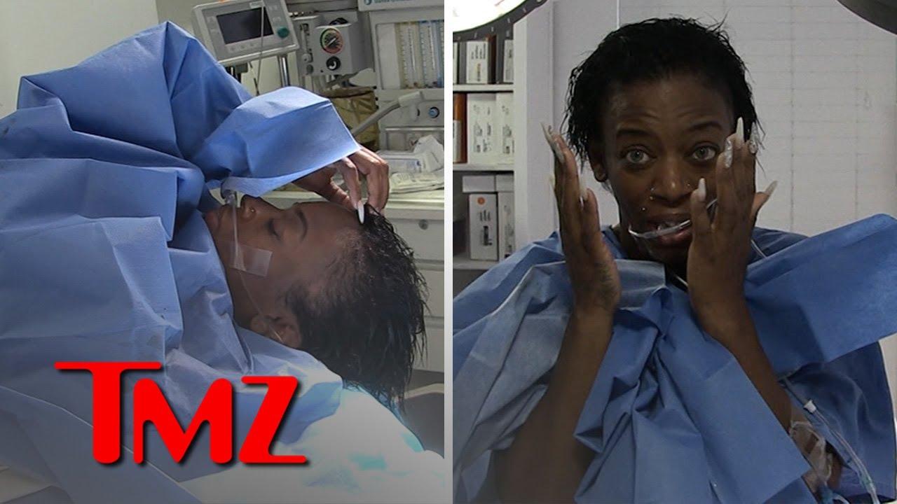 Tessica Brown Finally Runs Hands Through Glue-Free Hair, Gets Choked Up | TMZ