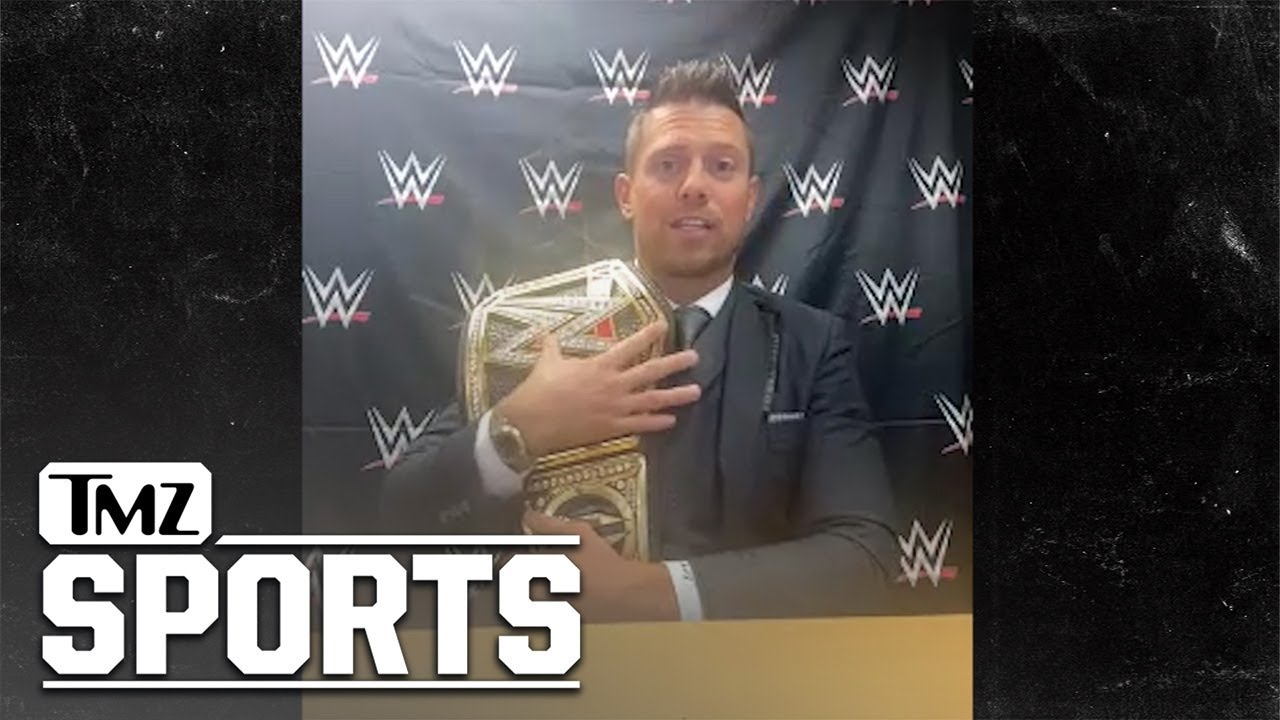 The Miz Says He Belongs on Mt. Rushmore of WWE With Hulk Hogan & John Cena | TMZ Sports