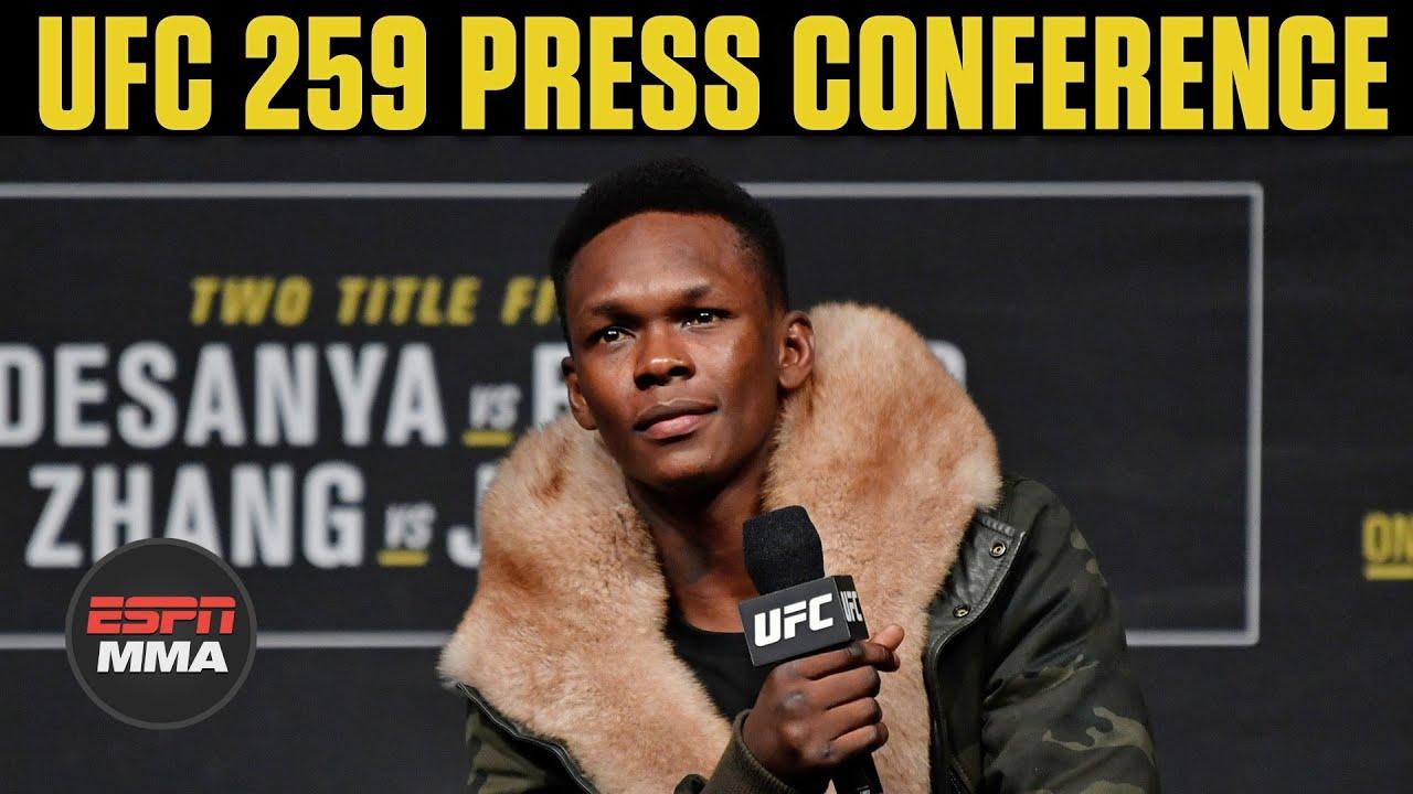 UFC 259 Press Conference | ESPN MMA
