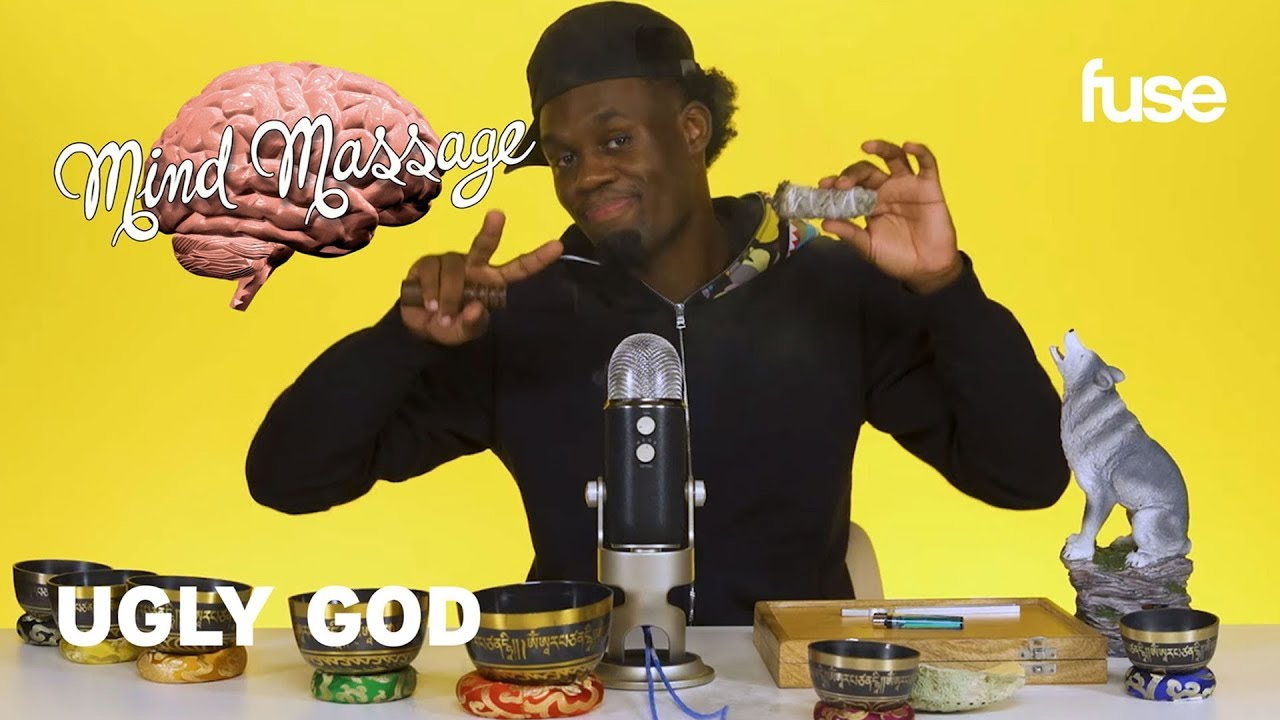 Ugly God Does A Zen-Inspired ASMR, Talks Overcoming Depression and New Album | Mind Massage | Fuse