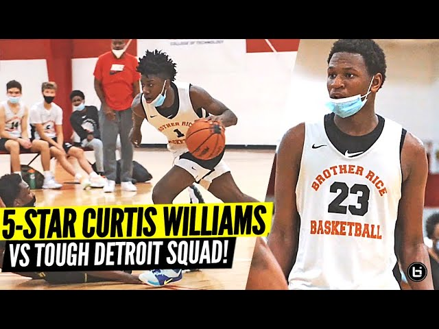 5 Star vs TOUGH Detroit Team Gets HEATED!! Curtis Williams Is The Real Deal!