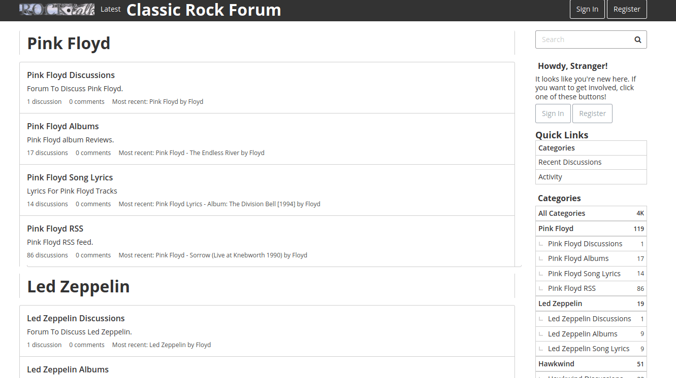 The Rock Forum