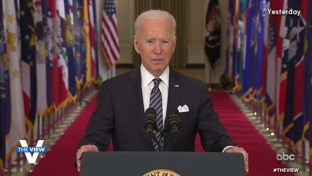 Biden Offers Optimism In Speech | The View