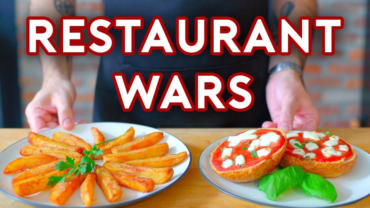Binging with Babish: Restaurant Wars from Steven Universe