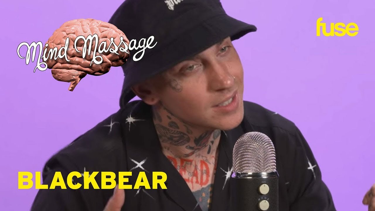 blackbear Does ASMR with Candy & Paint, Talks PINK ROLEX & Relationship Advice | Mind Massage | Fuse