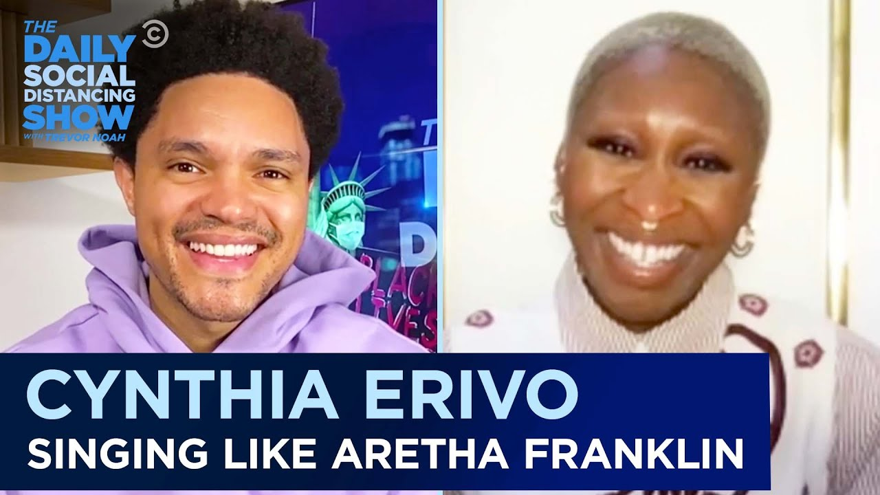 Cynthia Erivo: Playing Aretha Franklin & Maintaining Mental Health |The Daily Social Distancing Show