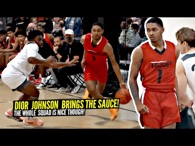 Dior Johnson & Kylan Boswell In The Backcourt Turns Into a PROBLEM!! Set The Nets On FIRE!!