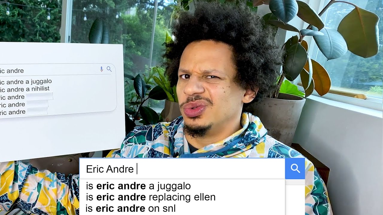 Eric Andre Answers the Web's Most Searched Questions...Again | WIRED