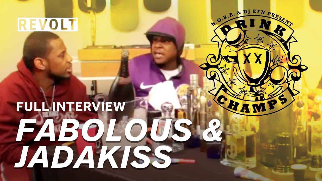 Fabolous and Jadakiss   Drink Champs (Full Episode)