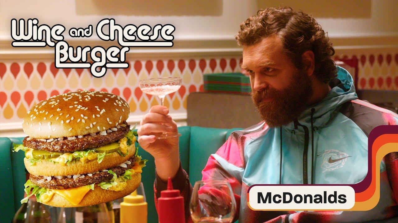 Harley Morenstein Challenges Lara to Pair Wine with the McDonald's Big Mac | Wine and Cheeseburger