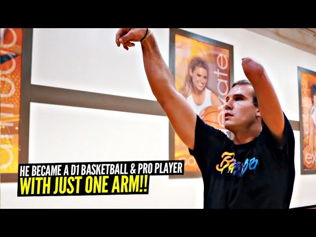 He Has ONE Arm & Became a D1 & Pro Basketball Player | The Inspiring Story of Zach Hodskins!
