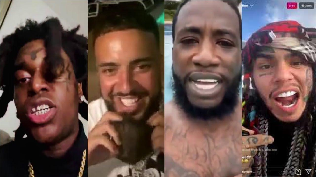 Kodak Black Admits Clone, Gucci Mane Robs French Montana, Lil Reese & 6ix9ine IG | BlessOne Reacts