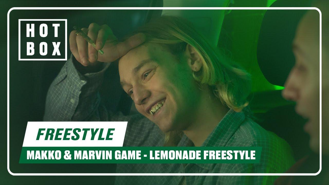 Makko & Marvin Game - Lemonade (@HOTBOX Freestyle)   16BARS