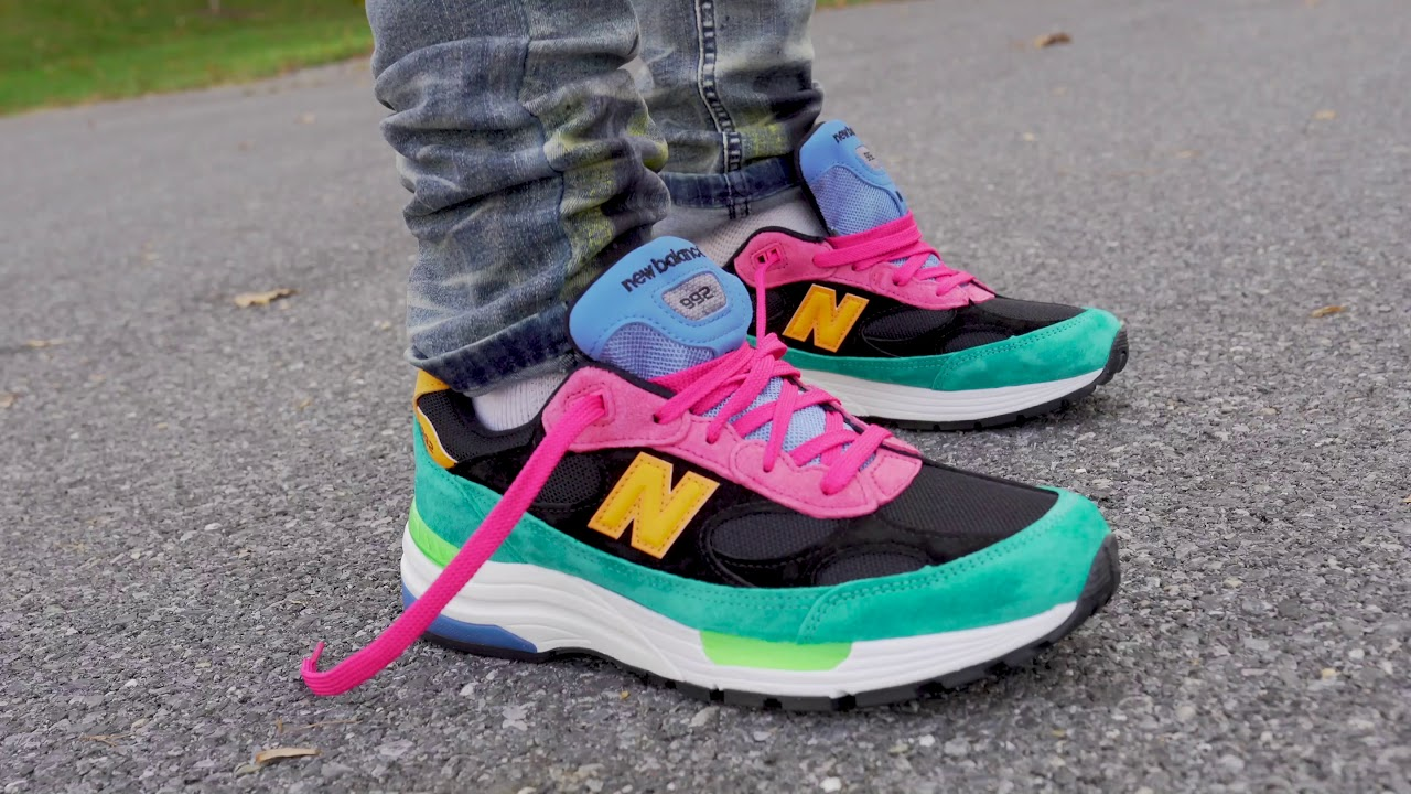 """New Balance 992 """"Multi Color"""" (Dope or Nope) + On Foot !"""