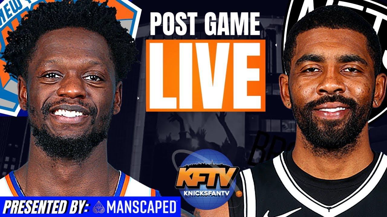 New York Knicks vs. Brooklyn Nets Post Game Show | Highlights & LIVE Caller Reactions | 4.5.21