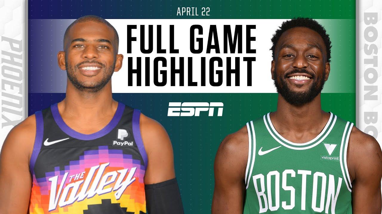 Phoenix Suns at Boston Celtics | Full Game Highlights