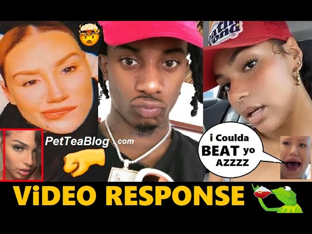 Playboi Carti Sidechick Responds to Iggy Azalea & Gets Dragged, She Almost JUMPED her (Video)