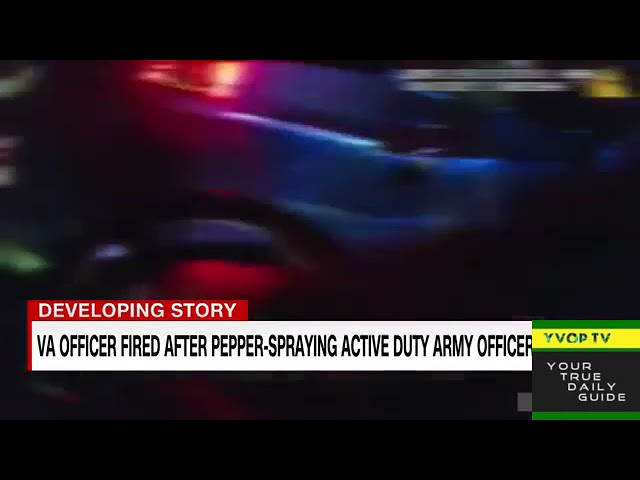 Police Officer Accused Of Assaulting An Army Officer In Virginia Traffic Stop Is Fired!!!