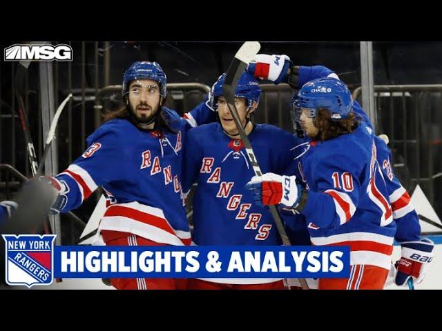 Rangers Get 8 Goals From 8 Scorers In Wild Win Against Penguins | New York Rangers
