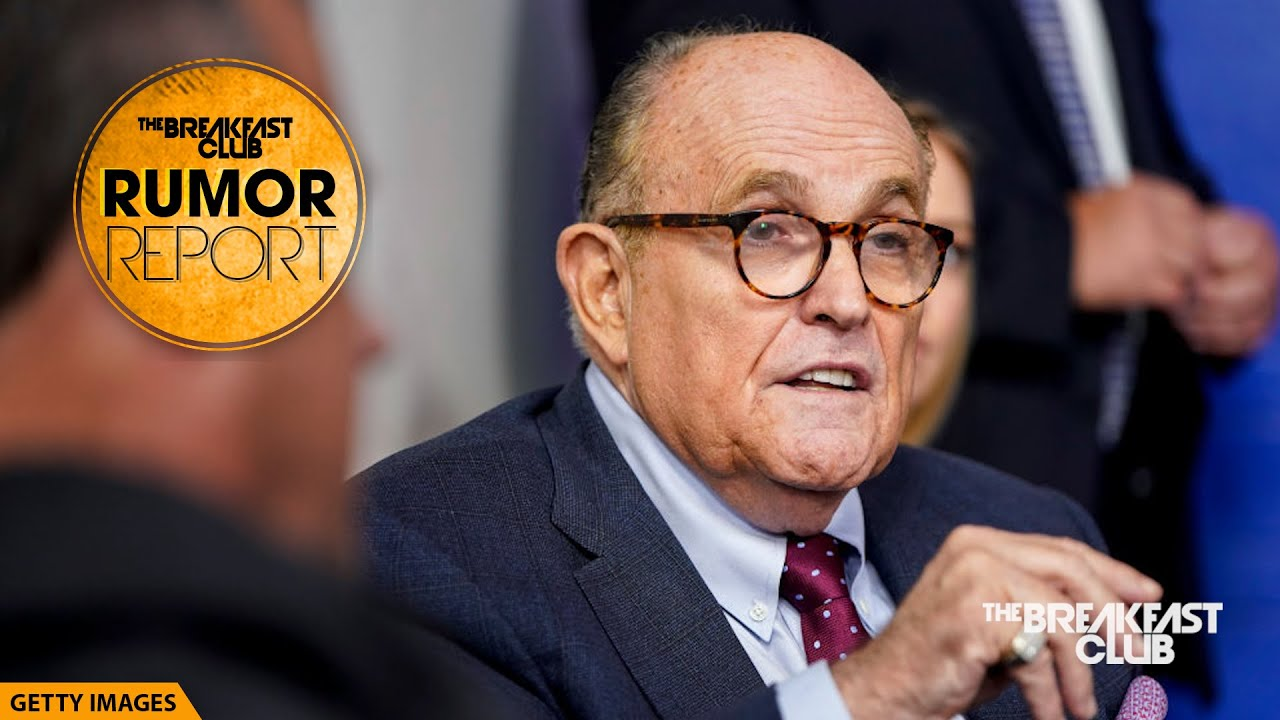 Rudy Giuliani Seen Fidgeting With His Private Area In New 'Borat' Movie