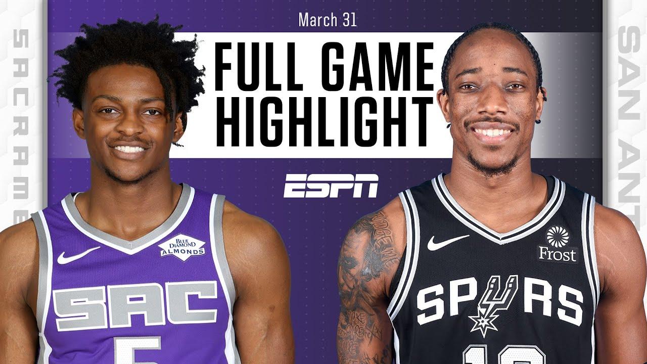 Sacramento Kings vs. San Antonio Spurs [FULL GAME HIGHLIGHTS] | NBA on ESPN
