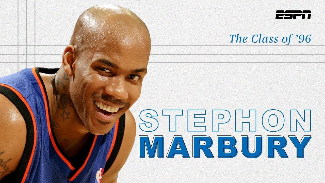 Stephon Marbury was a misunderstood All-Star who found his way in China | The Class of '96