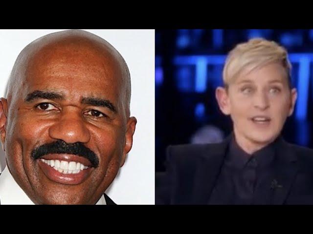 Steve Harvey Defends Ellen DeGeneres: She Has No Control Over What Every Staff Member Does