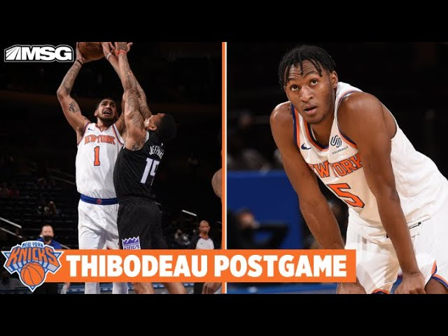 Thibodeau Reacts To Knicks' 140 Point Night & Play Of Toppin and Quickley | New York Knicks